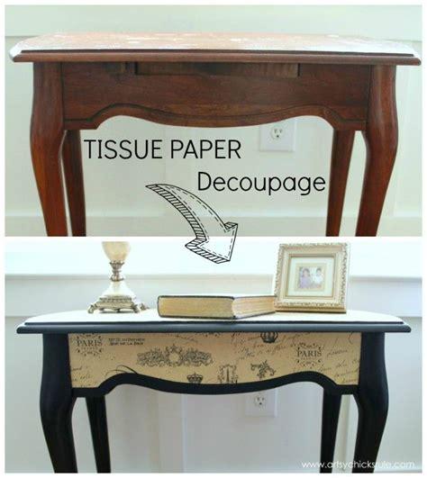 paper for decoupage on furniture best 25 decoupage table ideas on decoupage