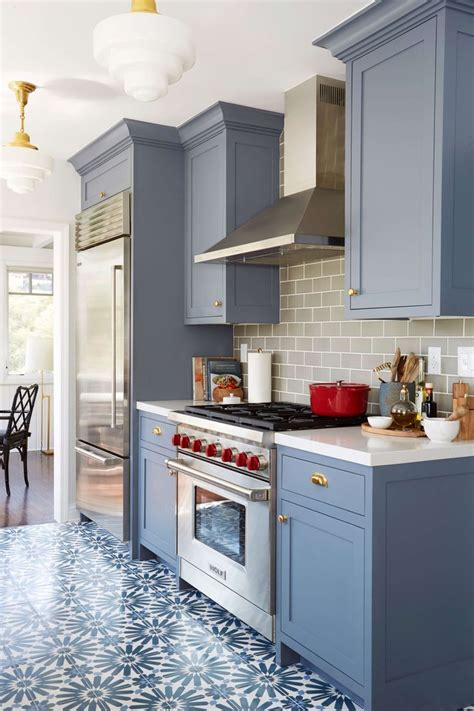 blue color kitchen cabinets 17 best ideas about blue gray kitchens on