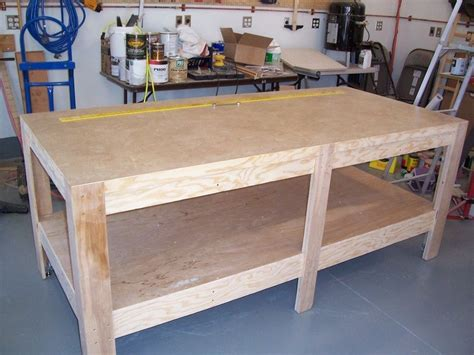 woodworking assembly table assembly table for shop by daveh lumberjocks