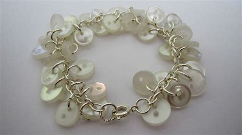 make jewelry jewelry craft button bracelet frugal york county