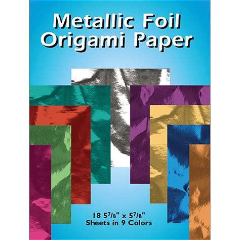 origami paper walmart dover metalic foil origami paper walmart