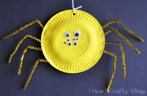 spider paper plate craft 101 crafts with paper plates northshore parent