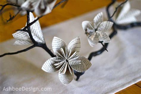 origami centerpiece origami flower table centerpiece