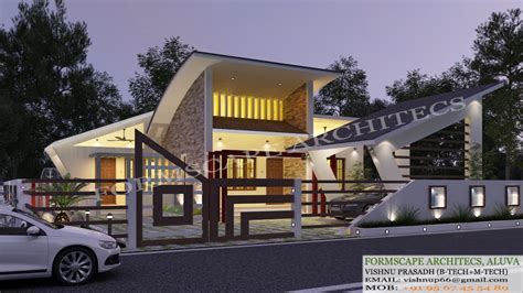 kerala model house plans with elevation contemporary style elevation house plans archives kerala