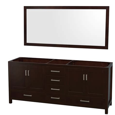 70 inch bathroom vanities wyndham collection wcs141480descxsxxm70 sheffield 80 inch