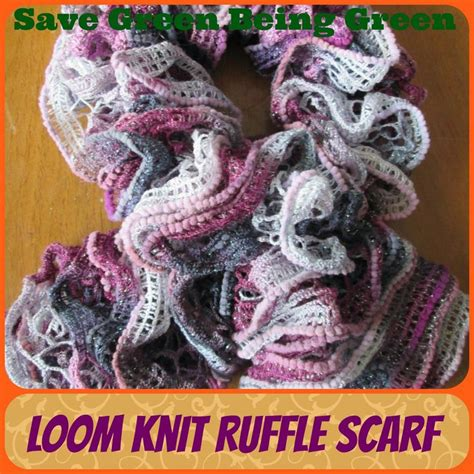 how to knit a ruffle scarf loom knit ruffle scarves loomknitting knitting
