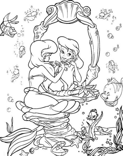pictures of coloring books get this mermaid coloring pages princess ariel 45601