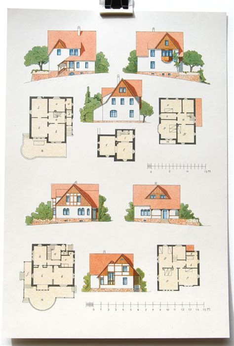 architecture crafts for architectural lithographs from vienna or leipzig circa 1910