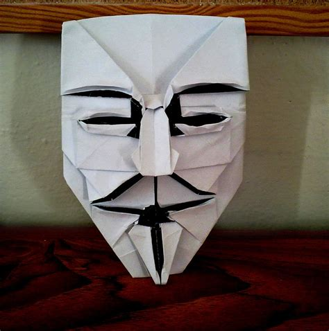 origami fawkes mask fawkes mask by yarin108 on deviantart