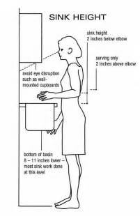 kitchen sink height 7 best ergonomics for the home images on
