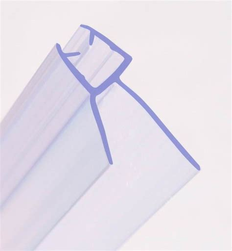 bath shower seal curved bath shower screen rubber plastic seal for 4 6mm