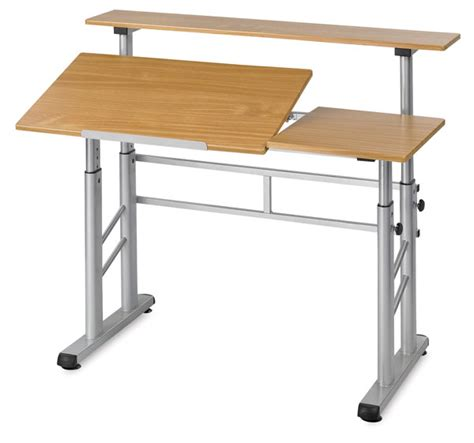 split drafting table safco split level drafting table blick materials