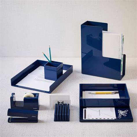 office desk accessories for color pop office accessories navy west elm