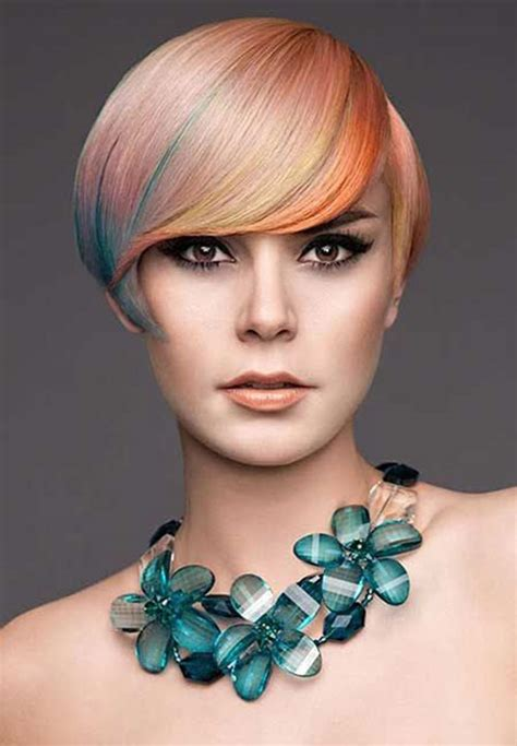 short hair color trends 2016