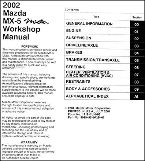 service repair manual free download 1993 mazda mx 5 engine control mazda mx5 service repair manual download memoography
