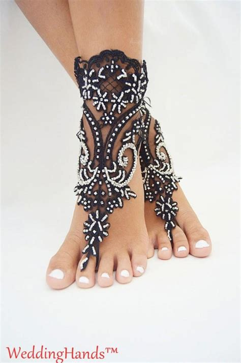 how to make beaded footless sandals beaded bridal anklets footless wedding sandals beaded