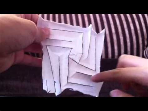 origami flasher origami simple flasher by shafer