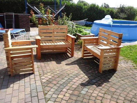 wooden pallet patio furniture diy wooden pallet patio furniture set 101 pallet ideas