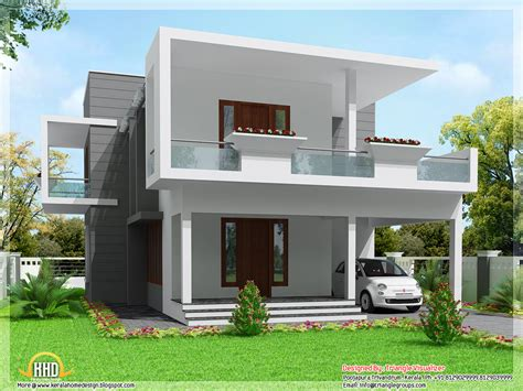 modern 3 bedroom house design modern 3 bedroom home design 2000 sq ft kerala