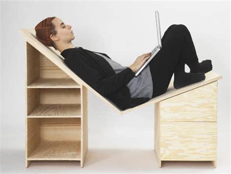 recliner computer desk recliner desk new angle on laptop work surfaces