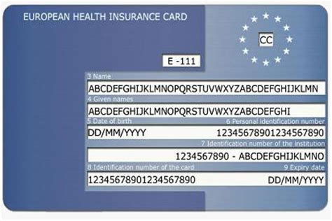 how to make a health insurance card ehic card essential for european travel for citizens