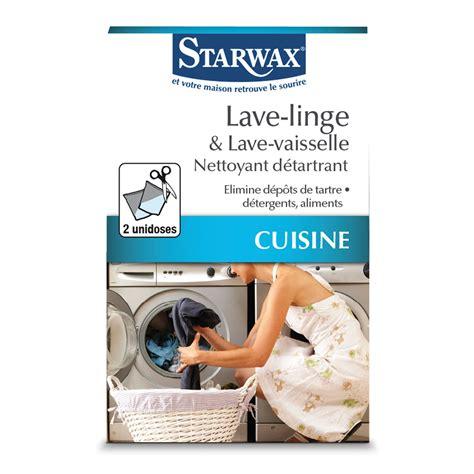 nettoyant d 233 tartrant pour lave linge et lave vaisselle starwax produits d entretien maison