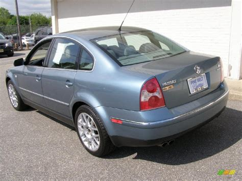 2003 Volkswagen Passat W8 by 2003 Pacific Blue Pearl Volkswagen Passat W8 4motion Sedan