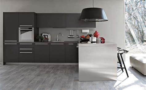 grey modern kitchen design modern kitchen designs home designing