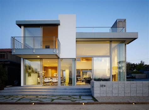 modern 2 story house plans contemporary 2 story house design with deck