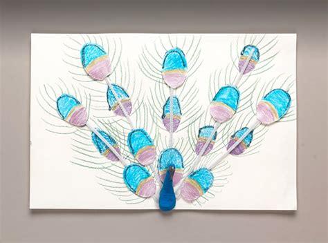 india craft for picturesque peacock craft crayola