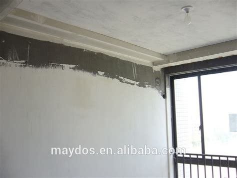wall putty plaster wall putty white cement for concrete wall flatness