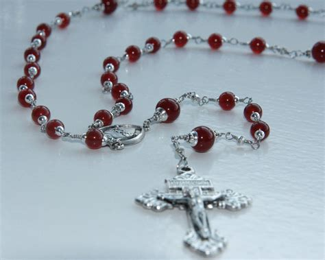 rosary for wire wrap gemstone rosaries for sale catholic of thule