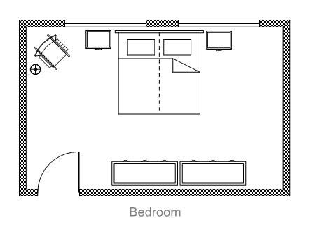 floor plans for small bedrooms ezblueprint