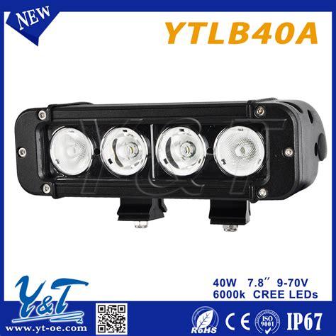 led light bar utv 4x4 light bar side by side utv 10 30v led light bar