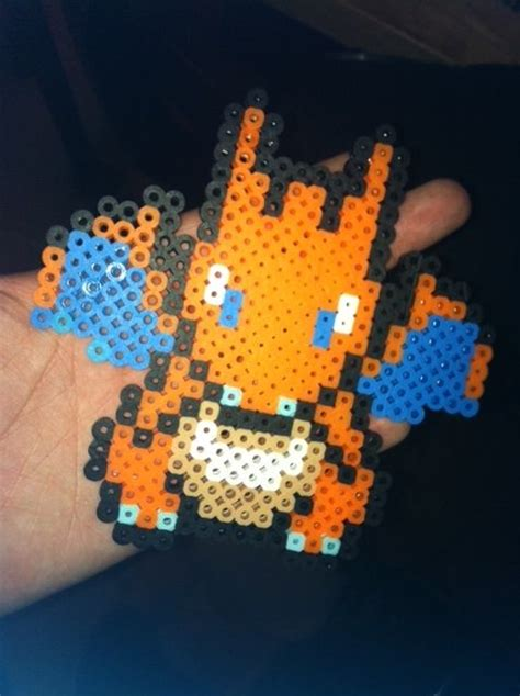 charizard perler charizard perler by tolovel diy