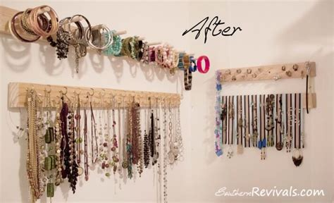 make your own jewelry ideas diy jewelry organizer