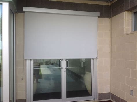 roll up patio doors manual roll up patio shades american sunscreens by