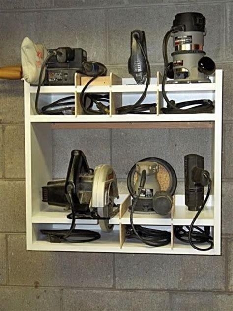 Kitchen Cabinet End Shelf by 25 Best Ideas About Power Tool Storage On Pinterest