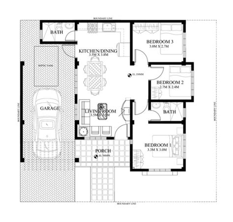 house design with floor plan philippines small house design 2015012 eplans