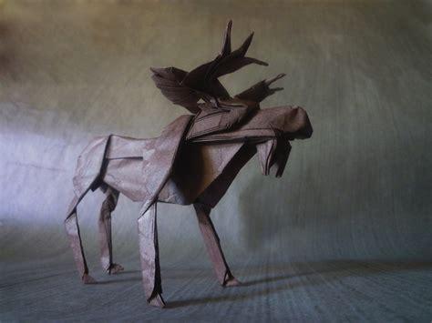 origami moose 23 wonderful origami woodland animals