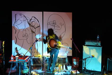 live painting joseph arthur at the troubadour feat ben rock is