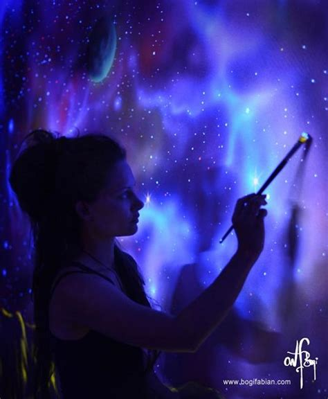 glow in the paint wall murals glowing wall painting ideas bringing futuristic space