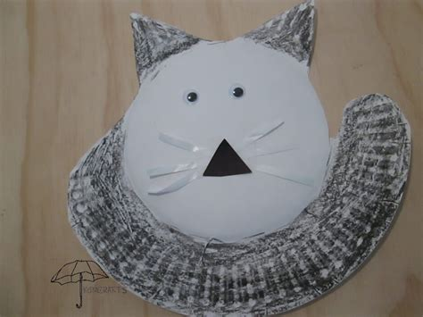 cat paper plate craft cat crafts for an afternoon of
