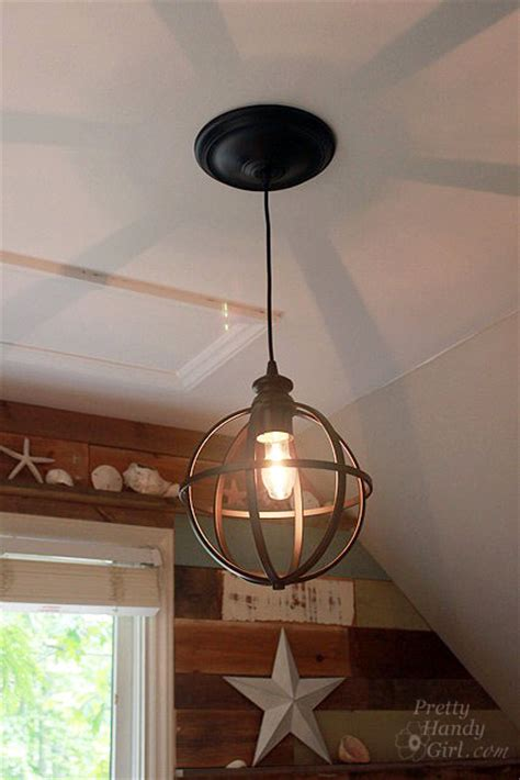 sphere light fixture 5 minute light upgrade converting a recessed light to a