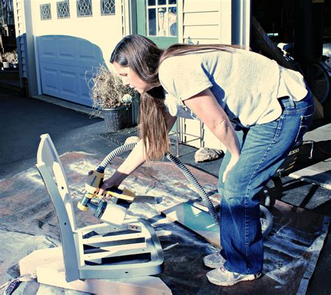 spray painter career how i made my banker s chair knock it