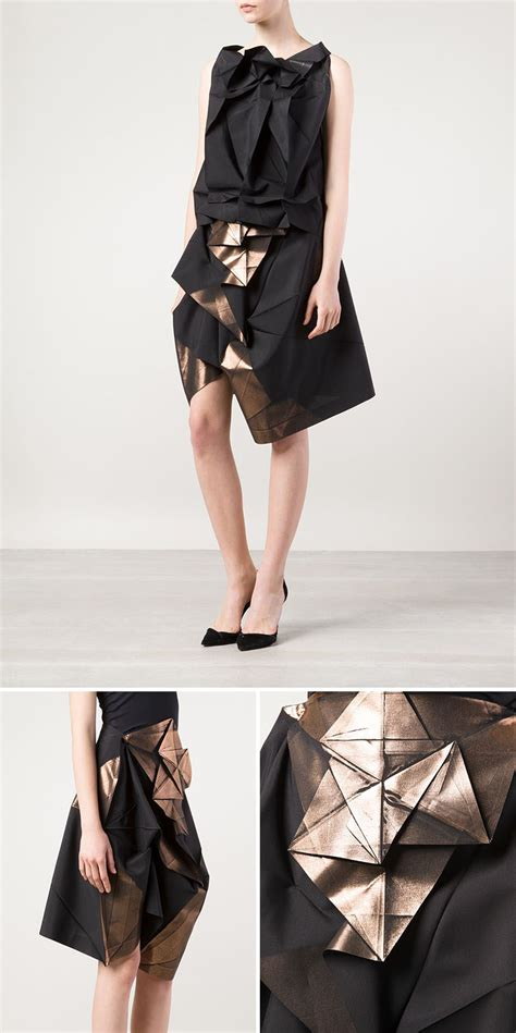 origami inspired dress 10 modern and creative fashion designs inspired by origami