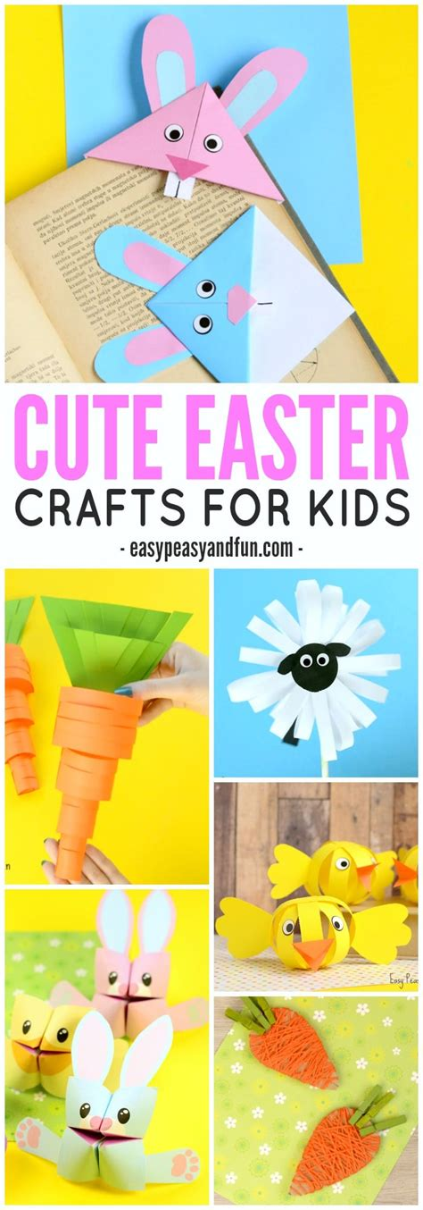 for kindergarteners to make easter crafts for lots of crafty ideas easy peasy