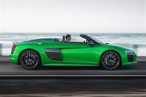Audi Spider by The Goes New Audi R8 Spyder V10 Plus