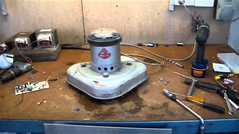 Where To Find Electric Motors by Vintage Vactric Brush Polisher Autopsy Electric Motor Find