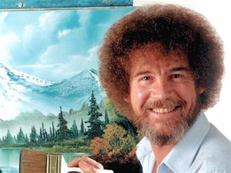 bob ross painting history you will be speechless when you find out who this handsome